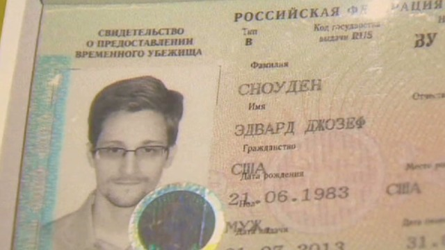 Where is Edward Snowden now?