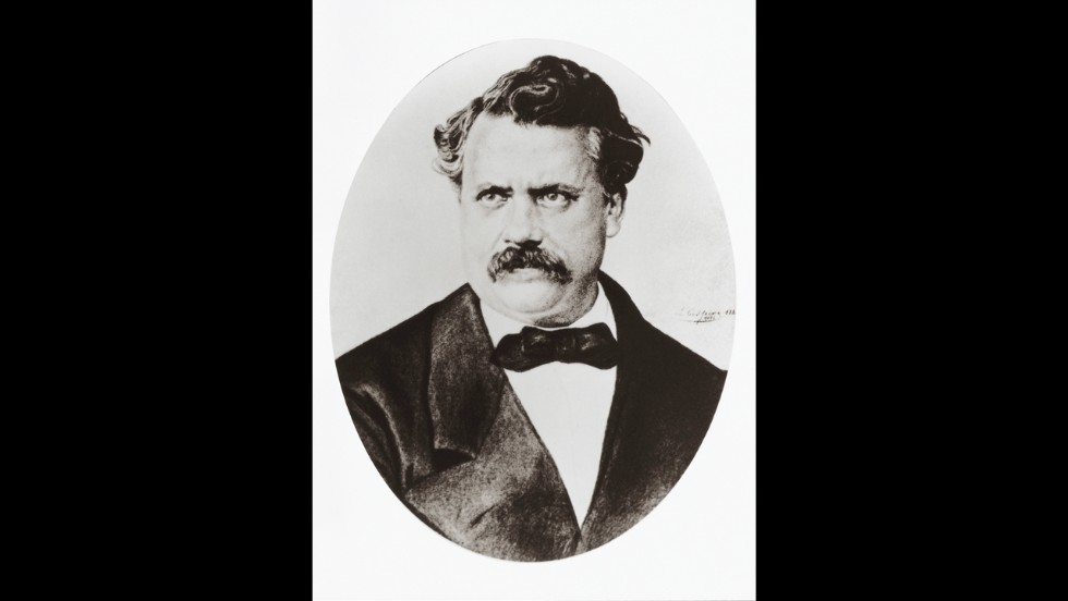 Louis Vuitton, French businessman and founder of the well-known fashion brand.