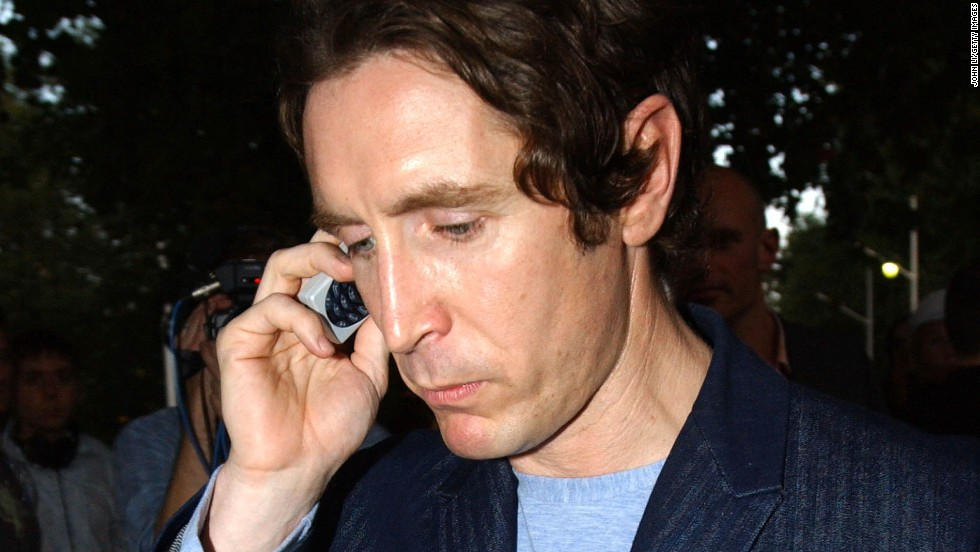 "Paul McGann, who starred as the eighth Doctor in the 1996 movie ""Doctor Who,"" arrives at the Institute of Contemporary Arts on August 15, 2002 in London."
