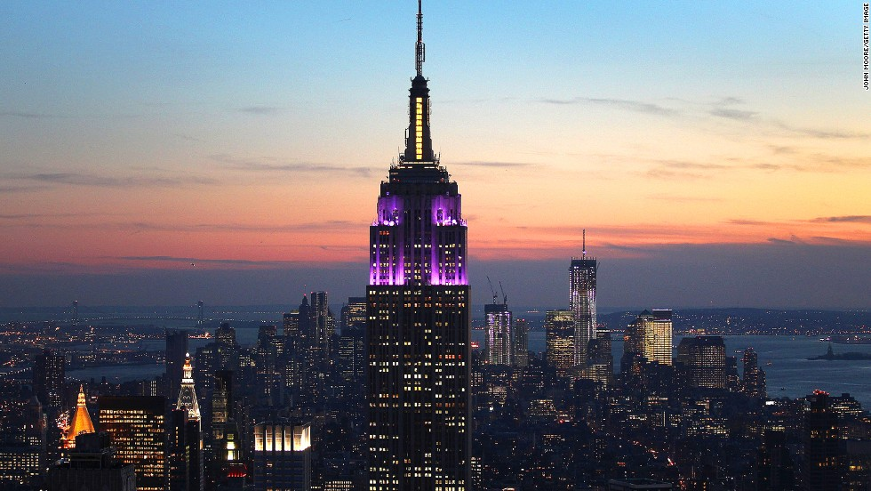 <strong>Height</strong>: 437 meters. <br /><strong>Cost to build</strong>: $41 million.<strong><br />Completion date</strong>: May 1, 1931.<br /><strong>Fast fact</strong>: The Empire State Building took only one year and 45 days to build, or 7 million man hours -- a record to this day for a skyscraper of its height. Its glory days are numbered though -- developers in China just broke ground on the world's tallest building, Sky City, with plans to whip it up in just 10 months.