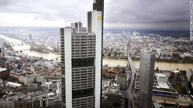 Commerzbank Headquarters, Frankfurt.