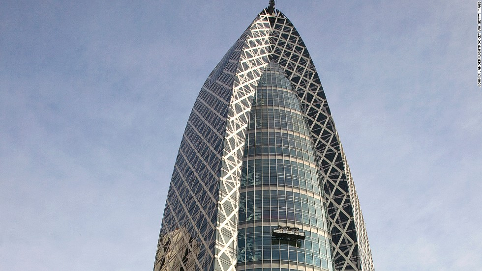 <strong>Height</strong>: 204 meters.<br /><strong>Cost to build</strong>: N/A.<strong><br />Completion date</strong>: October 2008.<br /><strong>Fast fact</strong>: As the name suggests, the Tokyo Mode Gakuen Cocoon Tower resembles the silky home of various larvae. Students are said to be educated inside the 50-level tower and metaphorically transformed into something bigger and more beautiful.