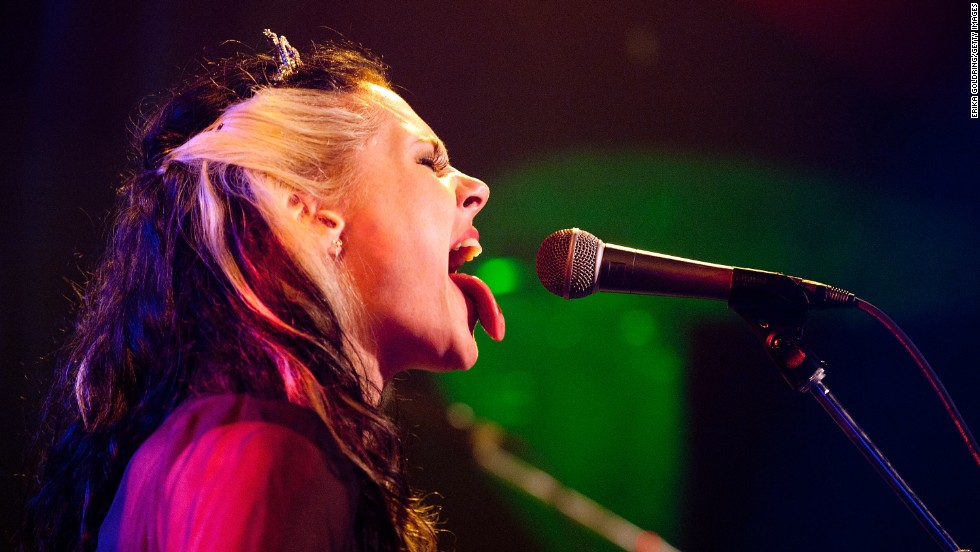 Kate Nash performs on August 1.