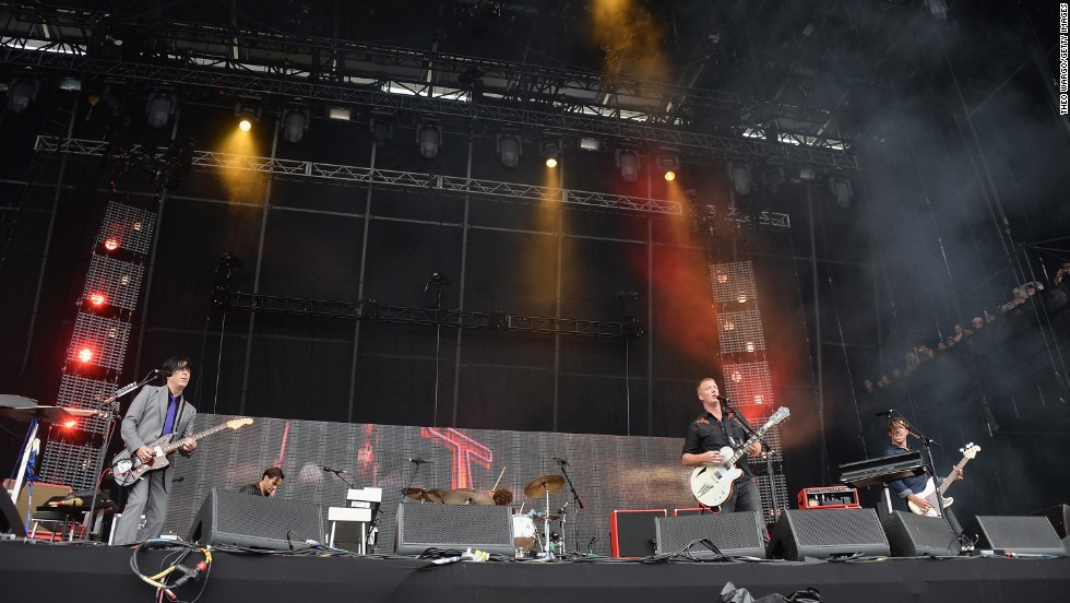 Queens of the Stone Age perform on August 2.