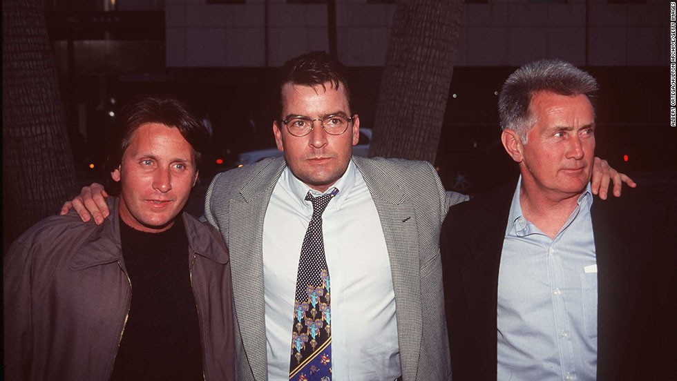 "There's no question that stage and screen star Martin Sheen, right, has seen his sons become just as famous as himself. Older son Emilio Estevez, left, chose to use his father's birth name, following dad into acting in the early '80s. He was soon an established member of the ""Brat Pack"" with roles in 1983's ""The Outsiders"" and 1985's ""The Breakfast Club."" Emilio's brother Charlie (born Carlos Estevez) wasn't far behind, carving out roles in '80s films ""Wall Street"" and ""Major League"" before moving on to TV success with ""Two and a Half Men."""