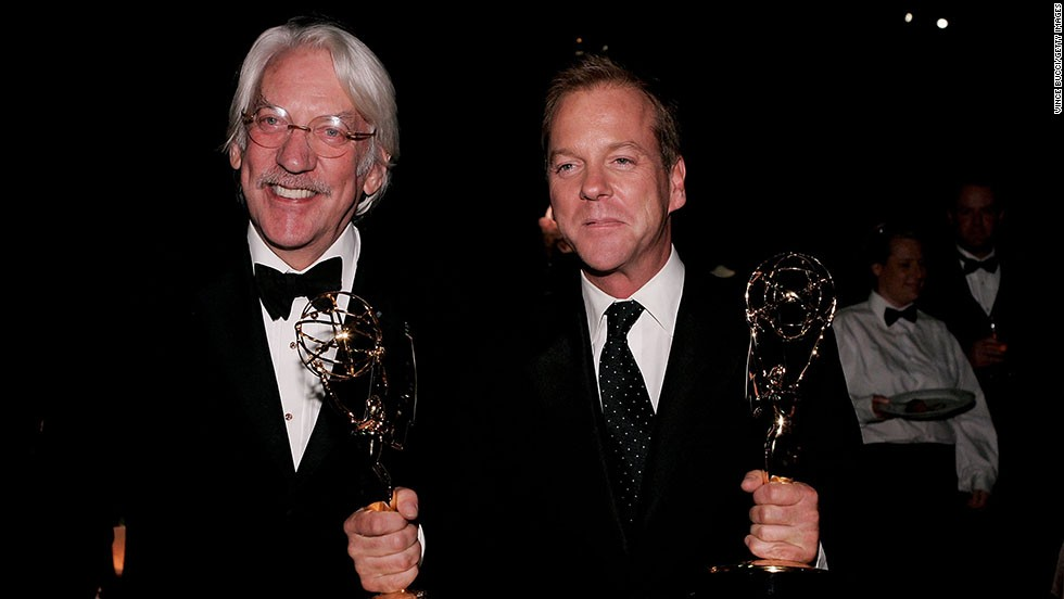 """Kiefer Sutherland got his acting start alongside his dad, Donald Sutherland. The elder Sutherland was established with roles in 1967's """"The Dirty Dozen"""" and 1970's """"M.A.S.H."""" by the time his son joined him for the 1983 dramedy """"Max Dugan Returns."""" Kiefer went on to star in the movies """"Stand by Me"""" and """"The Lost Boys"""" and later the TV series """"24."""""""