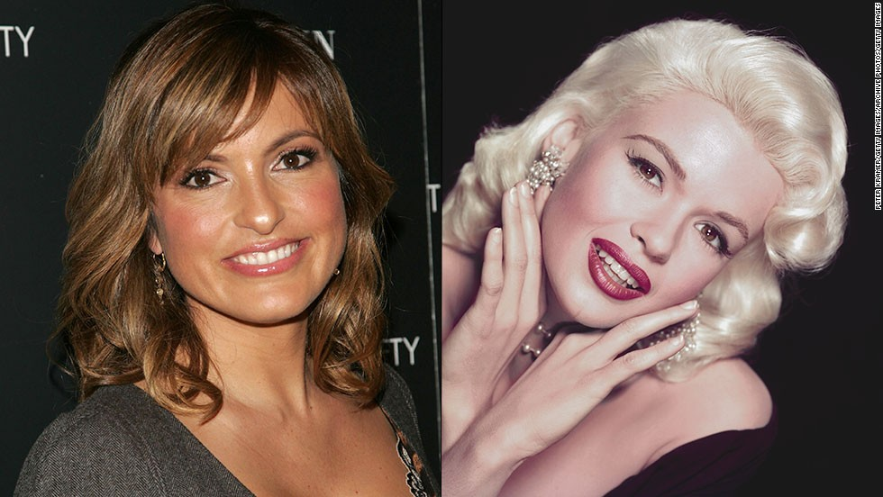 "Mariska Hargitay is the daughter of '50s sex symbol Jayne Mansfield, but she took a different path to stardom. While her mother was famous for her blond hair, curves and wardrobe malfunctions, Hargitay opted to be brunette and shy away from nude scenes. Eventually, she landed the starring role of Detective Olivia Benson on ""Law & Order: Special Victims Unit,"" winning Emmy and Golden Globe awards for her work."
