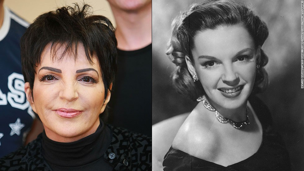 "Born into the spotlight, Liza Minnelli followed in the footsteps of her mother, the legendary singer-actress Judy Garland, winning a Tony and landing an Oscar nod before the age of 25. The daughter of ""The Wizard of Oz"" star and famed movie musical director Vincente Minnelli has had an illustrious career of her own, with an Oscar for ""Cabaret"" and TV appearances on ""Arrested Development."""