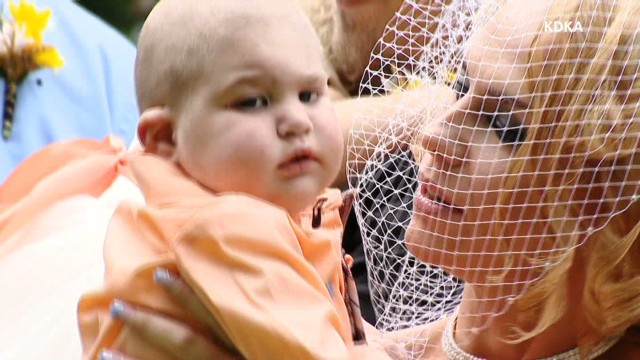 Couple wed for terminally ill son