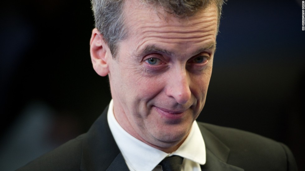 The BBC draws back the curtains to reveal who will be the next  British actor to play the famed Doctor. He is Peter Capaldi, seen here attending the British Comedy Awards at the O2 Arena on January 22, 2011.