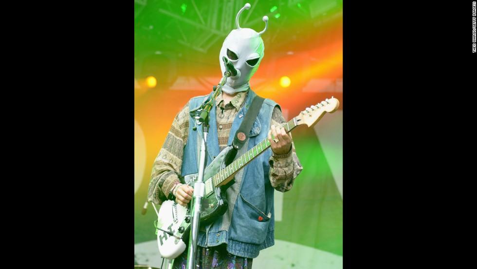 Zachary Cole Smith of DIIV performs on August 4.