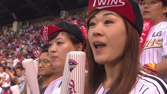 South Korean baseball's new fan base