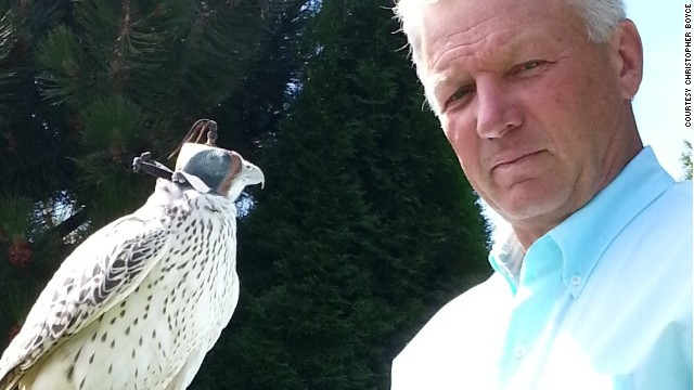 "Former spy Chris Boyce, the subject of the film ""The Falcon and the Snowman,"" is an expert on falconry."