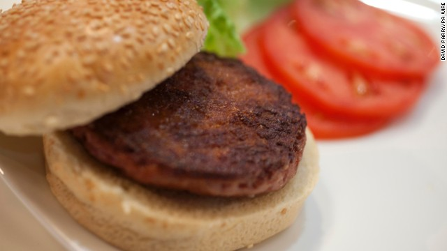 Scientists in London are serving up the first ever test tube beef burger made in a laboratory using stem cells.
