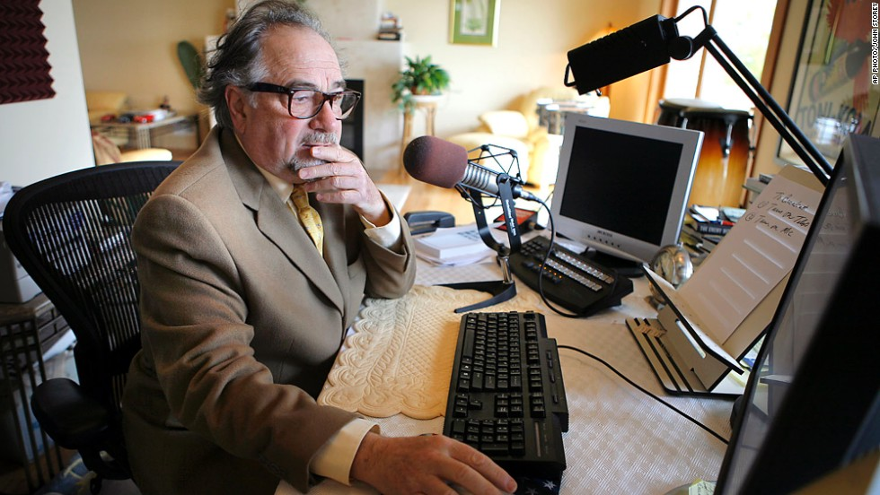 "The British government listed American radio talk-show host <a href=""http://cnn.com/2009/SHOWBIZ/05/07/us.savage.banned/index.html?iref=24hours"" target=""_blank"">Michael Savage</a> as one of 22 people banned from entering the country for ""seeking to provoke others to serious criminal acts and fostering hatred which might lead to inter-community violence."" Savage has made controversial comments about homosexuality, illegal immigration from Mexico and Islam. ""I'm a patriotic American, and if that's a crime in England, God help us all,"" came his retort."