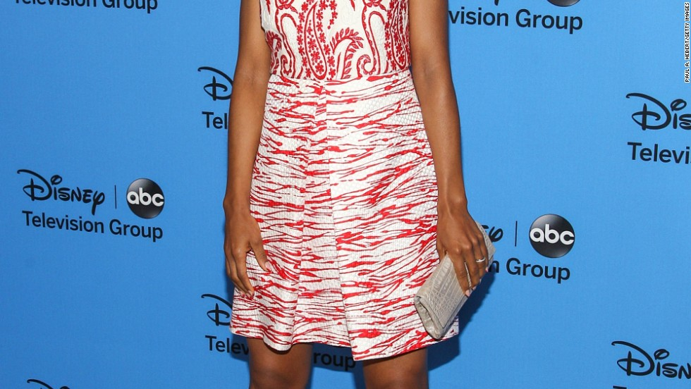 Kerry Washington is all smiles at ABC's TCAs panel on August 4 in Beverly Hills.
