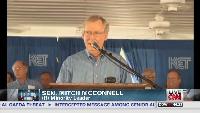 Kentucky rival burns Sen. McConnell