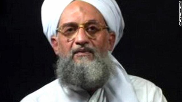 Al Qaeda second-in-command Ayman Al-Zawahiri at an undisclosed place and time. Al-Zawahiri today announced that Egypt's Jamaa Islamiya militant group had formally joined the global terror network.