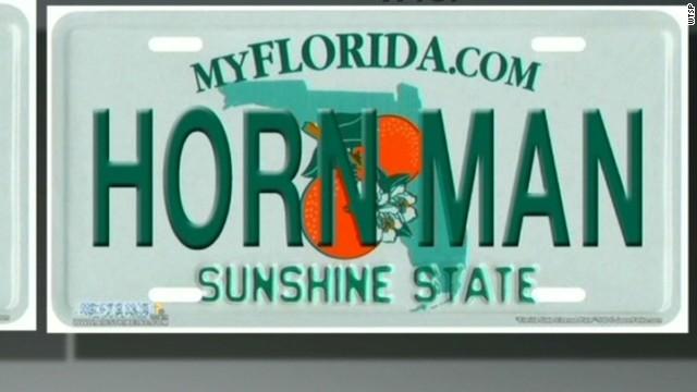 Vanity license plates OK or too dirty?