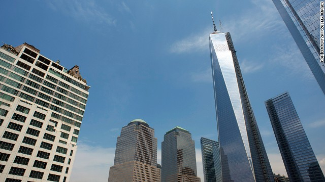 One World Trade Center, New York.