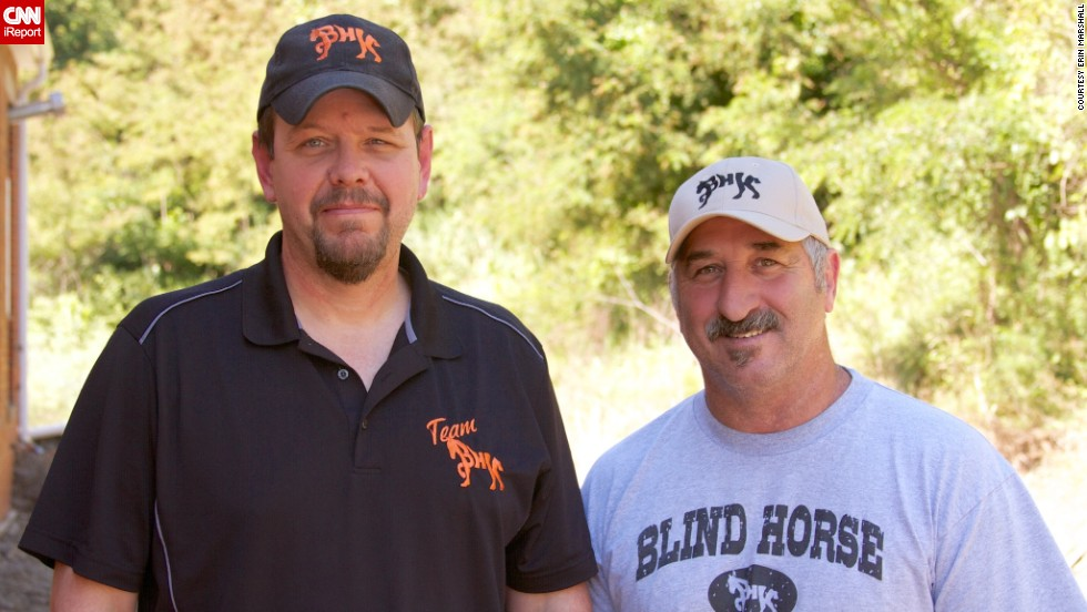 After visiting a knife show, L.T. Wright and Dan Coppins were inspired to start their own hand-crafted cutlery business called Blind Horse Knives.