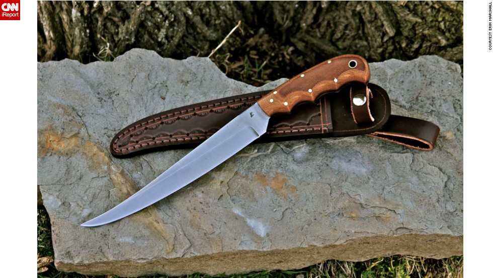 """In addition to making custom knives, Coppins and Wright also own a publication, <a href=""""http://www.selfrelianceillustrated.com/"""" target=""""_blank"""">Self-Reliance Illustrated</a>, and host a radio show."""