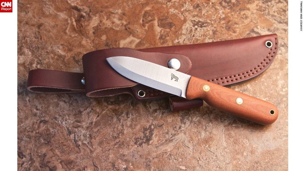 The business grew through word of mouth at knife and gun shows and through social media. The business now employs 23 local craftsmen who make 250 knives per week.