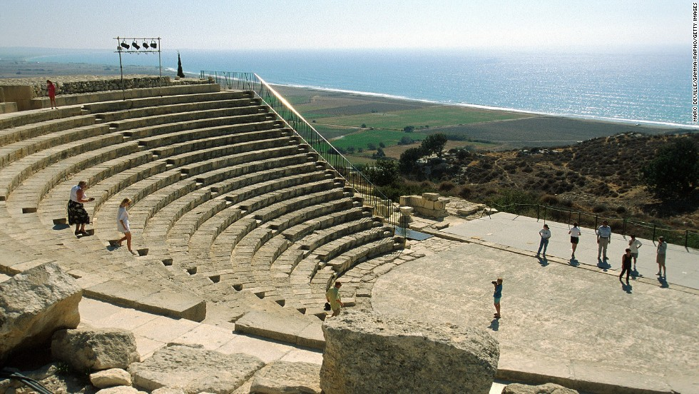 Cyprus still uses the ancient 3,500-seat amphitheater in Kourion. The theater, which has existed in some form since the 2nd century AD, is a venue for performances.