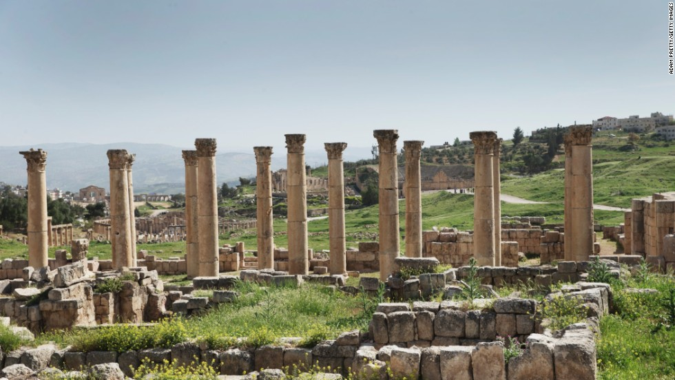 Just 30 miles from Amman in Jordan, Jerash has a storied history. It's possible that Alexander the Great founded Jerash, but the Romans who conquered it in 63 BC put it on the map.