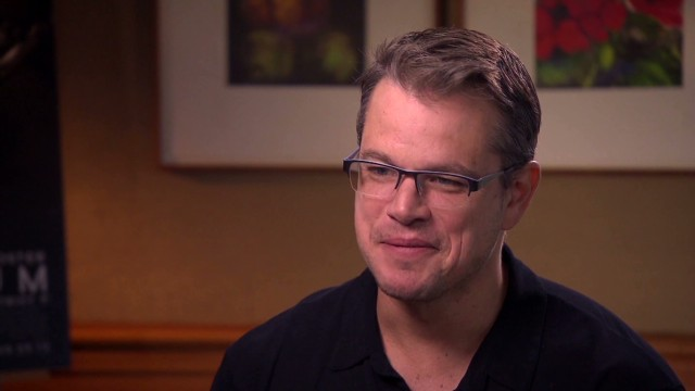 Matt Damon on new sci-fi film 'Elysium'