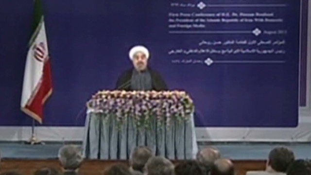 Rouhani sworn in as Iran's new president
