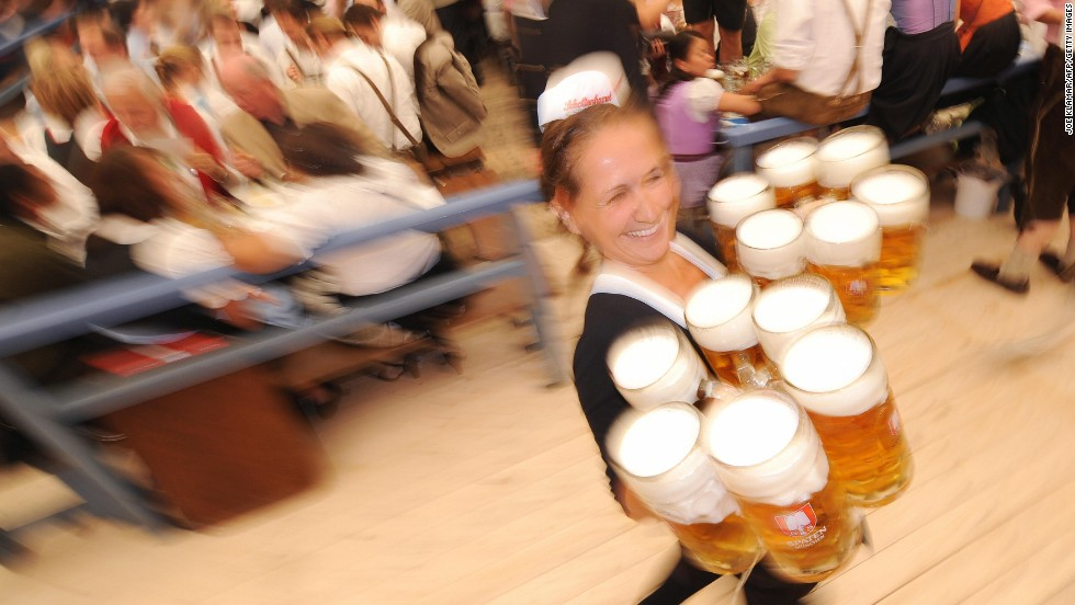 Octoberfest, Munich's ode to beer, may be the largest food and drink festival in the world. The 16-day event attracts upwards of six million visitors each year.