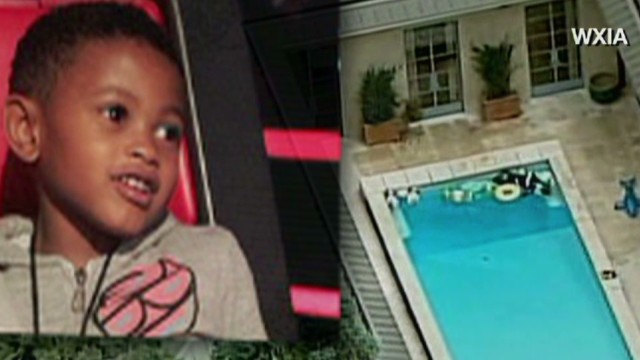 Usher's son survives swimming pool accident