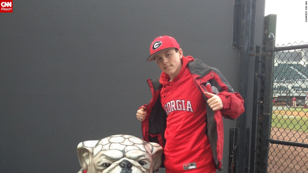 Zack's family hopes his cartoons might provide a way for him to make a living down the road. Although his family lives in Simpsonville, South Carolina, Zack and his father are avid Georgia Bulldog fans.