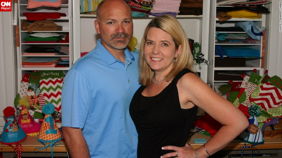 "After being laid off from their construction jobs, <a href=""http://ireport.cnn.com/docs/DOC-1006727"">Heather and Mike von Quilich</a> found inspiration through Etsy and Heather's love of crafting."