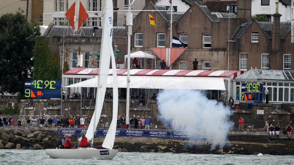 The yacht club has an illustrious place in British history, launching the first ever America's Cup in 1815 and Cowes Week in 1826, which starts each race with cannon fire over the water.