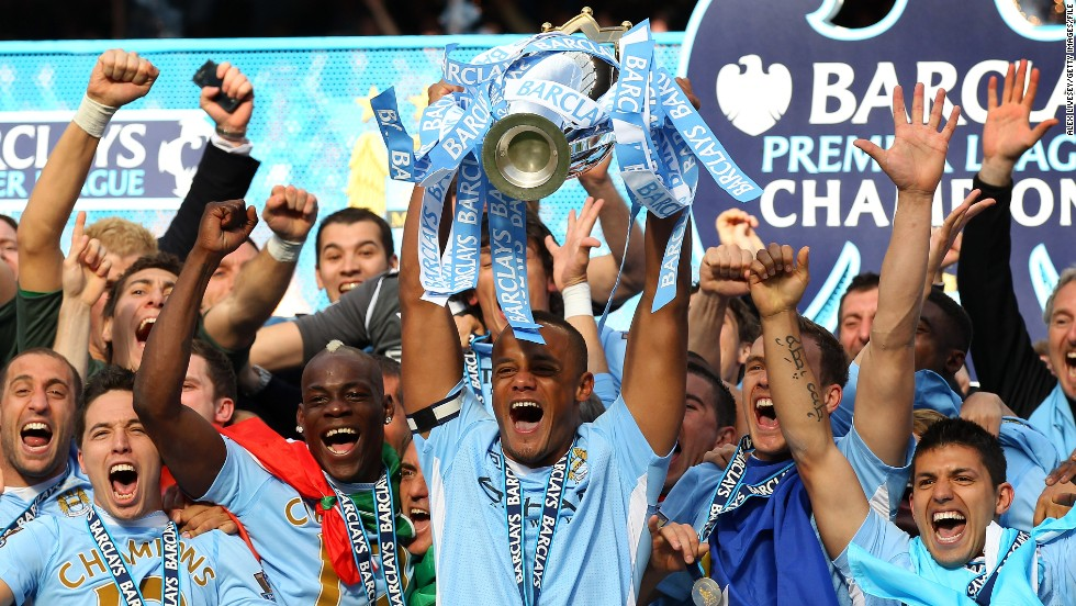 The highlight of Kompany's career to date arrived in May 2012. A goal from Sergio Aguero deep into injury time gave City a 3-2 win over Queens Park Rangers and secured the team a first league title in 44 years. As captain, Kompany was the man who lifted the trophy.
