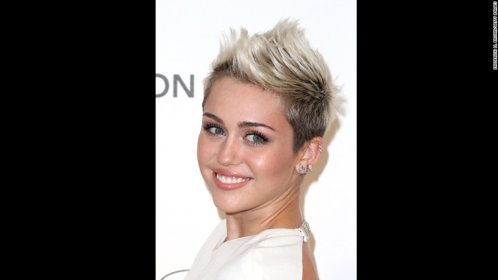 "Miley Cyrus' haircut was the snip heard around the world. Although the star eased into the shorter look with a neat bob, <a href=""http://marquee.blogs.cnn.com/2012/08/13/miley-cyrus-cuts-her-hair-and-gets-a-new-gig/?iref=allsearch"">her shorter, more daring cut left fans stunned</a>."