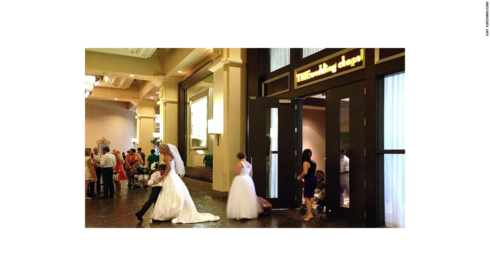 "<a href=""http://www.mandalaybay.com/features-and-shopping/weddings/"" target=""_blank"">THEwedding Chapel</a> at THE Hotel Mandalay Bay is consistently voted as one of the best wedding venues in Las Vegas. It's elegant, to be sure, but not without Las Vegas flair; a limo ride and photo session with an Elvis impersonator are available for $675."