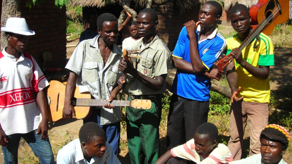 "The Malawi Mouse Boys is an eight-member band that was discovered by Grammy-winning American record producer Ian Brennan. Last year, they released their first album, titled ""He is #1."""