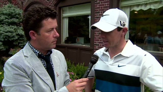 Rory reflects on opening round