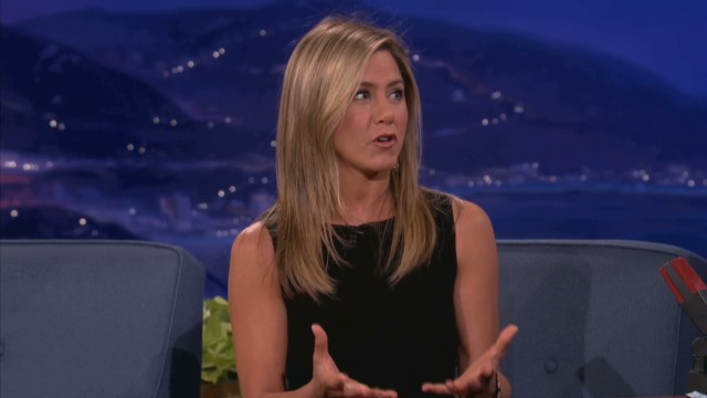 Jennifer Aniston dishes on lap dance