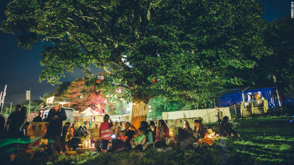 "Inevitably, yurts are an accommodation option at this Welsh ""bespoke banquet of music, arts and culture."" So is a castle -- now, that's really not Glastonbury 1978."