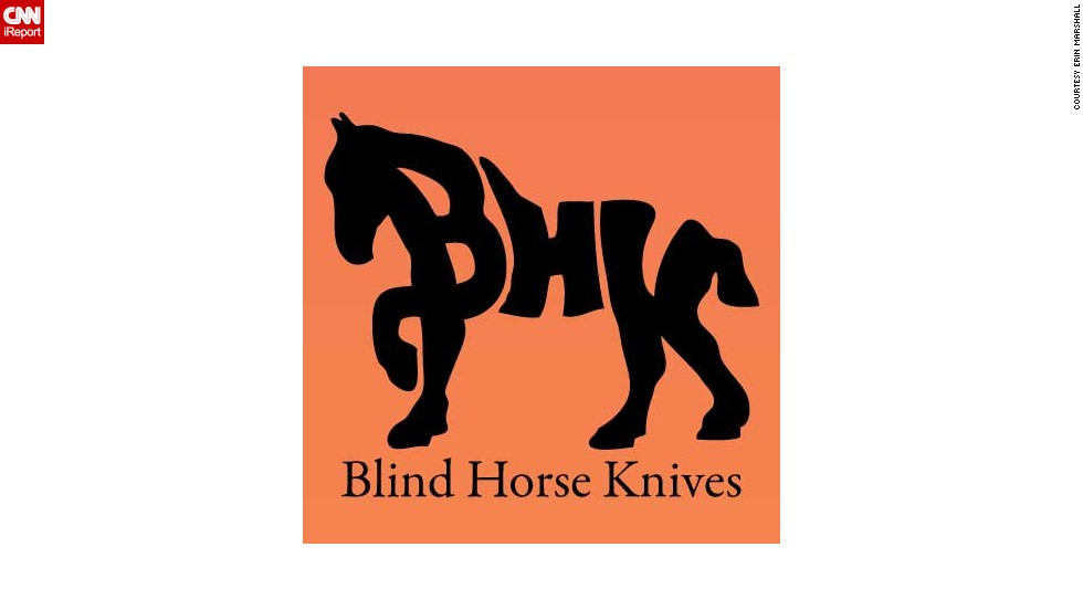 The name comes from an old family tale from Wright's side of the family. The story goes that a relative of Wright's used minimal tools and the help of a blind horse to build a shed.