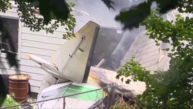 Small plane crash leaves three missing