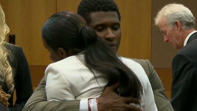 Machado: Usher's hug was unexpected
