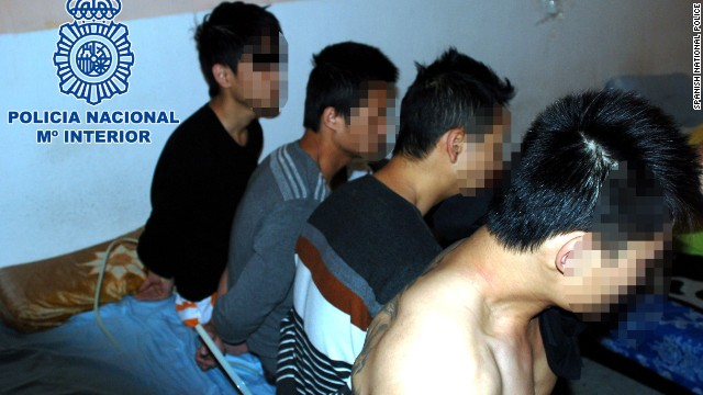 Spain trafficking connected to China