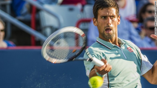 Novak Djokovic crushed Richard Gasquet to set up a showdown with Rafael Nadal in Montreal.