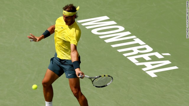 Rafael Nadal won his third Rogers Cup title and second in Montreal after he beat Canada's Milos Raonic.
