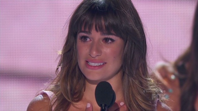 Lea Michele pays tribute to Monteith